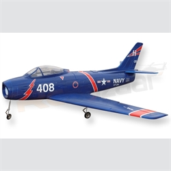 F86 Sabre (including Motor) - Blue Colour