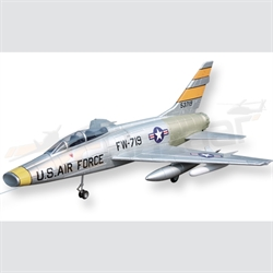 F-100 Super Sabre EPS Electric Jet with motor