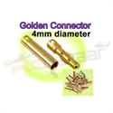 Picture of 4.0mm Gold Bullet Connector