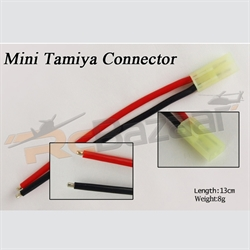 Tamiya connector with silicone wire