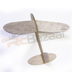 Comet chuck glider (wing span 27.5 cms)