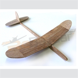 True North catapult / chuck glider (wing span 38 cms)