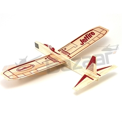 Jetfire Balsa Glider - chuck glider