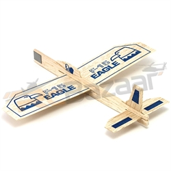 Eagle Balsa Glider - chuck glider
