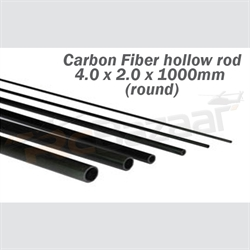 Tube 4.0 x 2.0 x 1000mm (round) (special shipping)