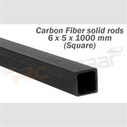 Picture of Tube 6.0 x 5.0 x 1000mm (Square) (special shipping)