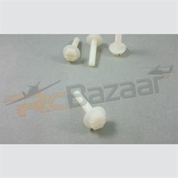 M6×L40mm Nylon screws - flat head