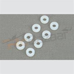 (4 nos) Φ3×7×0.9mm Nylon washer
