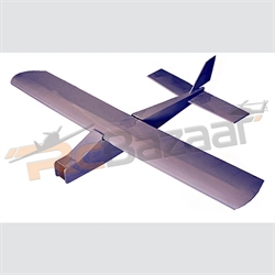 Cloud Dancer trainer balsa laser cut kit 1300mm