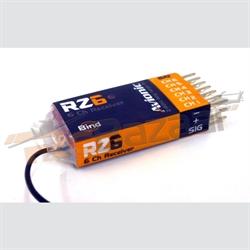 Avionic RZ6 - 6Ch 2.4Ghz receiver