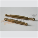 Picture of A2pro - M2.5 (28mm length) brass turnbuckle (2 pcs)