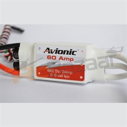 Avionic White 60Amp ESC