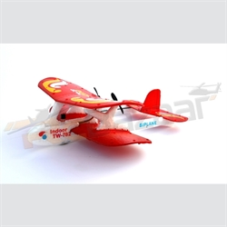 Biplane Red Infrared EPP plane