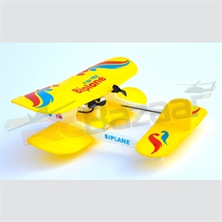Biplane Yellow Infrared EPP plane