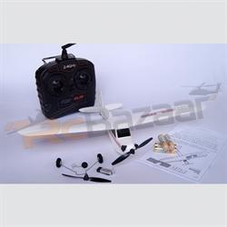 Skycub white- 3 Channel RC plane (RTF)