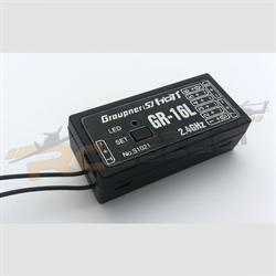Graupner GR-16L (8 Channel 2.4GHz HoTT Receiver)