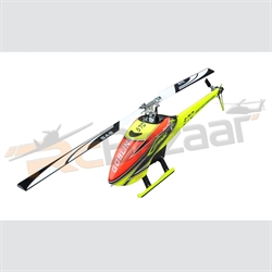GOBLIN 570 YELLOW/ORANGE (with blade and tail blades)