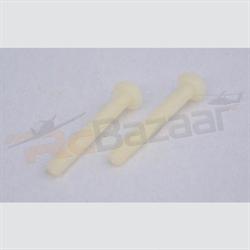 (4 nos) Nylon Screws M4×L34mm