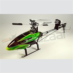 Hiller 450 Pro-X (Green & black) belt drive heli kit