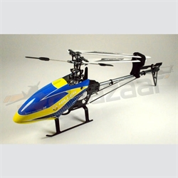 Hiller 450 Pro-X (Yellow & blue) belt drive heli kit