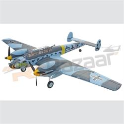 Dynam Messerschmitt BF-110 PNP W/Retracts (PNP)