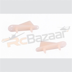2 nos - Wing and Tail skid L50×H18mm