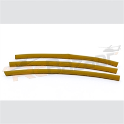2mm yellow heat shrink tube