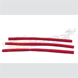 3mm red heat shrink tube