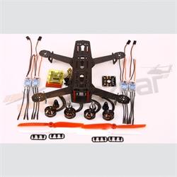 Hiller Carbon250 racer super Combo - ESC/2204 motor/CC3d/DB/6x3 props