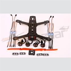 Hiller Carbon250 racer base Combo -2204 motor/DB/6x3 props