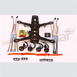 Hiller Fiber250 Turbo Combo -ESC/2204 motor/CC3d/DB/6x3 props